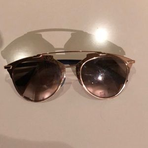Dior Reflected Gold Sunglasses